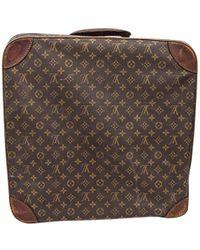 Louis Vuitton | Pre-owned Canvas Travel Bag | Lyst