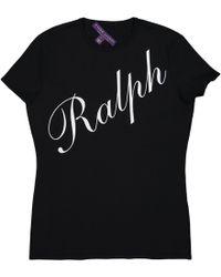 Ralph Lauren Collection - Black Viscose Top - Lyst
