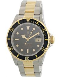 Rolex - Submariner Other Gold And Steel Watches - Lyst