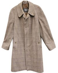 Burberry - Wool Coat - Lyst