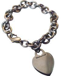 253ebf9f58fd4 Tiffany & Co. Pre-owned Return To Tiffany Silver Silver Bracelets in ...