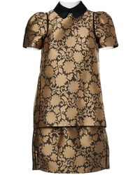 Louis Vuitton - Silk Skirt Suit - Lyst