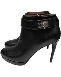 Givenchy - Leather Ankle Boots - Lyst