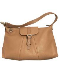 Longchamp - Leather Handbag - Lyst