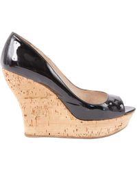 Miu Miu - Patent Leather Heels - Lyst