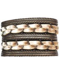 Louis Vuitton - Vintage Other Metal Bracelets - Lyst