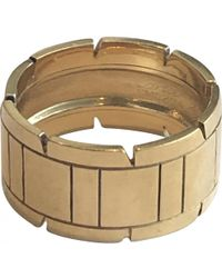 Cartier - Tank Française Yellow Yellow Gold Ring - Lyst