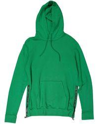 Balmain - Green Cotton Knitwear & Sweatshirt - Lyst