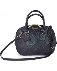 Burberry - Pre-owned Leather Crossbody Bag - Lyst