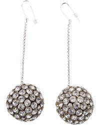 Isabel Marant - Silver Metal Earrings - Lyst
