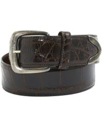 Ralph Lauren Collection - Brown Leather Belts - Lyst