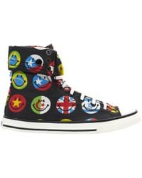 Moschino - Cloth High Trainers - Lyst