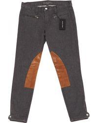 Ralph Lauren Collection - Grey Cotton - Elasthane Jeans - Lyst
