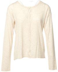 Zadig & Voltaire - Beige Cashmere Knitwear - Lyst