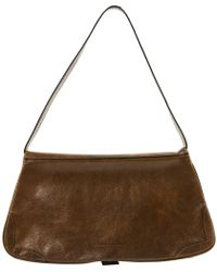 CoSTUME NATIONAL - Pre-owned Brown Leather Handbags - Lyst