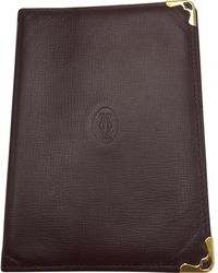 Cartier - Brown Leather - Lyst