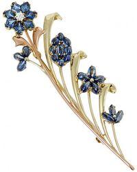 Tiffany & Co. - Yellow Gold Pin & Brooche - Lyst