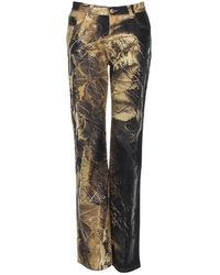 Roberto Cavalli - Camel Cotton Jeans - Lyst