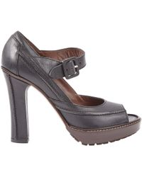 Marni - Pre-owned Leather Heels - Lyst