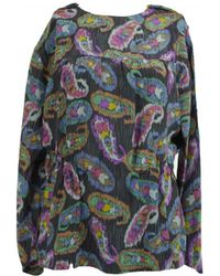 Isabel Marant - Pre-owned Multicolour Silk Top - Lyst