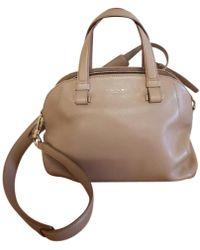Lancel - Leather Handbag - Lyst