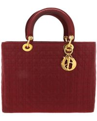 Dior - Lady Burgundy Cloth - Lyst