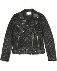 IRO - Leather Biker Jacket - Lyst