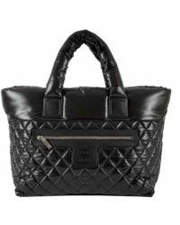 Chanel - Coco Cocoon Black Polyester Handbag - Lyst