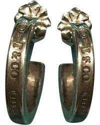 Tiffany & Co. - Tiffany 1837 Silver Earrings - Lyst