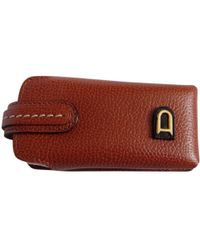 Delvaux - Leather Small Bag - Lyst