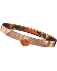 Hermès - Collier De Chien Gold Pink Gold Bracelets - Lyst