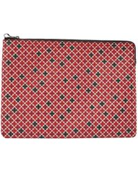 By Malene Birger - Pre-owned Red Synthetic Purses, Wallets & Cases - Lyst