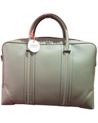 Givenchy - Grey Leather Bag - Lyst