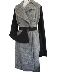 Givenchy - Wool Coat - Lyst