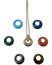 Van Cleef & Arpels - Yellow Gold Necklace - Lyst