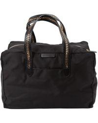 Stella McCartney - Black Cloth Travel Bag - Lyst