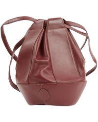 Cartier - Seau Burgundy Leather - Lyst