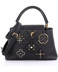 Louis Vuitton - Capucines Leather Handbag - Lyst