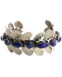 Isabel Marant - Blue Metal Bracelet - Lyst