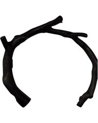 Jean Paul Gaultier - Pre-owned Black Metal Bracelet - Lyst