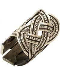 Etro - Silver Metal Bracelet - Lyst