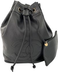 Chanel - Leather Backpack - Lyst