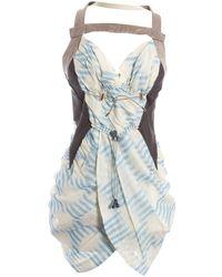 Louis Vuitton - Multicolour Synthetic Dress - Lyst