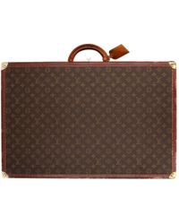 Louis Vuitton - Pre-owned Cloth 24h Bag - Lyst