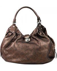 Louis Vuitton - Pre-owned Mahina Leather Handbag - Lyst