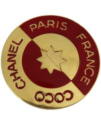 Chanel - Pin & Brooche - Lyst