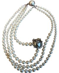 Chanel - Vintage Other Pearls Necklace - Lyst