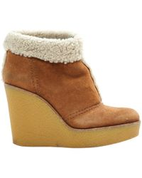 Chloé - Pre-owned Snow Boots - Lyst