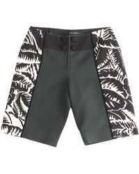 Marc Jacobs - Pre-owned Green Cotton Shorts - Lyst