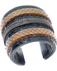 Lanvin - Lizard Bracelet - Lyst